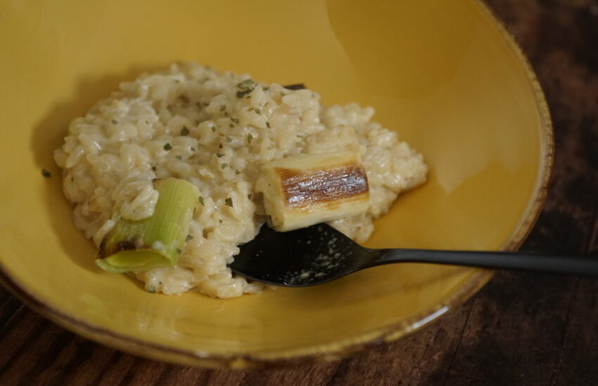 butter risotto